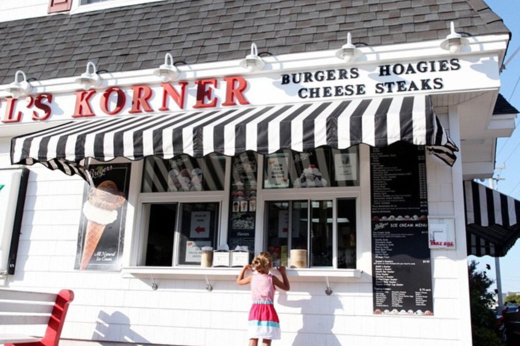 Kessels Korner Ice Cream OCNJ