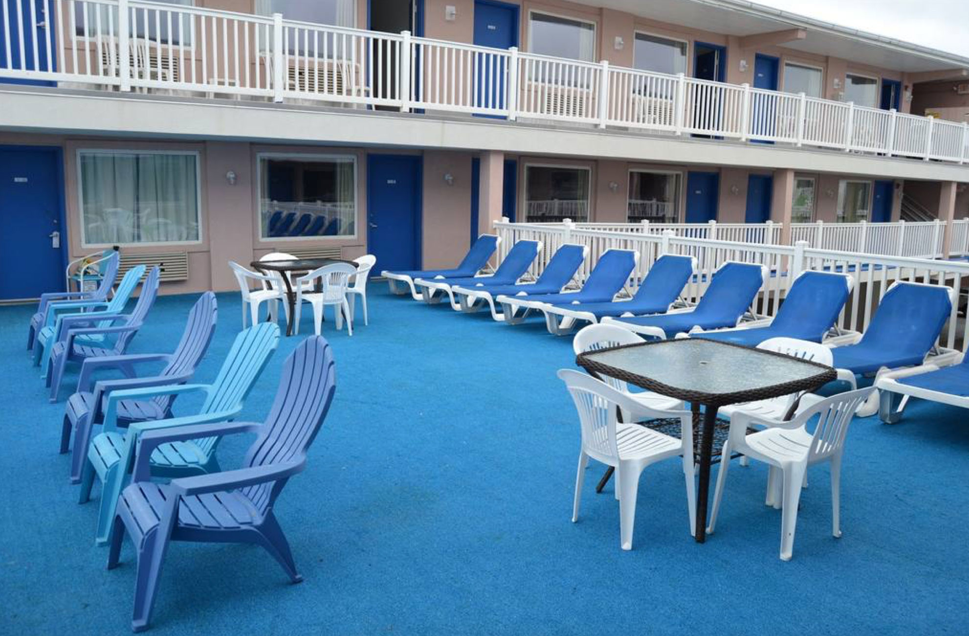 Places To Stay OCNJ Ocean Front Motel Beachfront