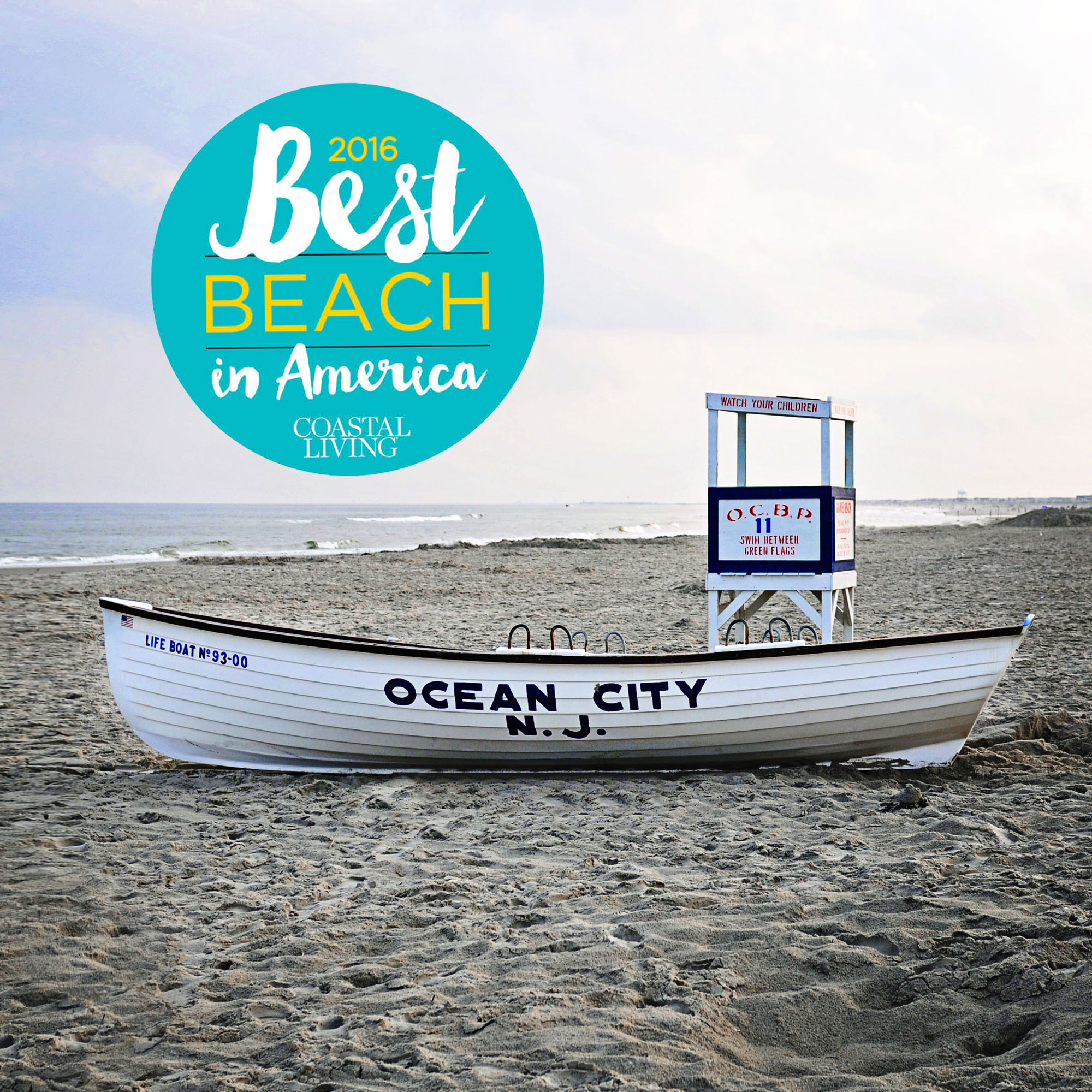 Ocean city nj named the best beach in america for Best city to leave in usa